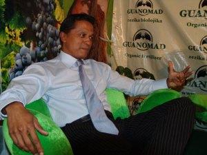 Erick Rajaonary, le PDG du groupe Guanomad est passionné de son travail.