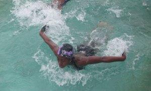 Domoinanavalona Amboaratiana,  au Riverside, est une des valeurs sûres de la natation malgache.