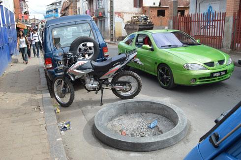 Ambatomitsangana : Suspension des travaux d'« embellissement » de la rue