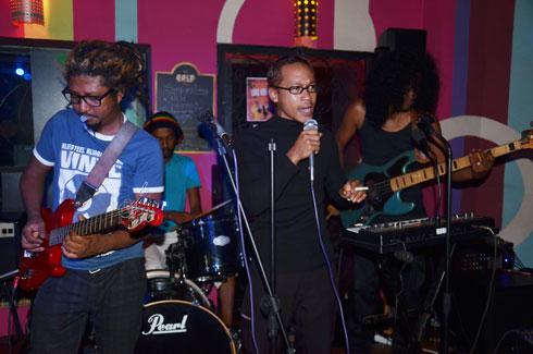 Voots kongregation : Entre rock, funk et slam !