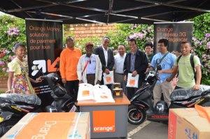 Les Grands gagnants du jeu Quiz 907 spécial Noël d'Orange Madagascar.