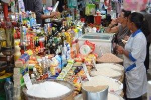 Certains produits ont des prix qui augmentent et d'autres, qui diminuent.