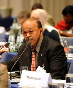 Patrice Ranaivoson a su partager au monde entier les expériences malgaches en matière de sport et  développement.