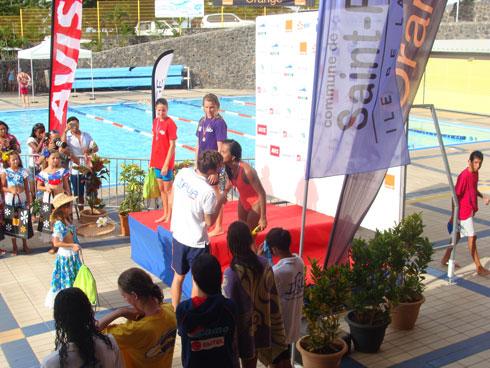 Natation : Meeting de l'Océan Indien Rabary Johanna médaillée de bronze chez les benjamines
