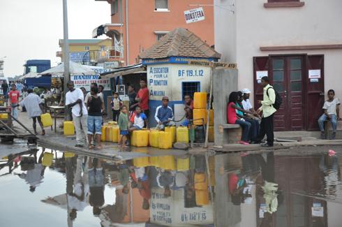 Jirama : Coupure d'eau toute la journée hier !