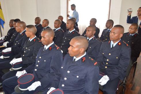 Sapeurs Pompiers : Des 19 éléments diplômés en environnement