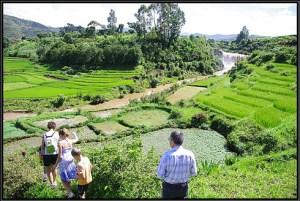 Les participants pourrront à admirer le beau paysage d'Antsirabe.
