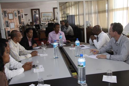 FIVMPAMA : Rencontre avec une délégation de Guadeloupe