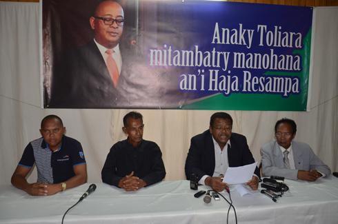 Premier minsitre : Les « Zanak'i Toliara » soutiennent Haja Resampa