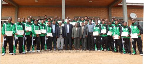 Football – Stage CAF : 43 entraîneurs décrochent la licence C