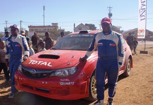 Rallye Dzama : Belle victoire de l'équipage Olivier- Haingo !