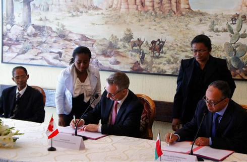 Coopération : Canada, le plus grand investisseur à Madagascar
