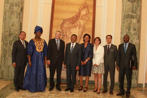 OIF : Ouverture d'une Représentation permanente à Madagascar