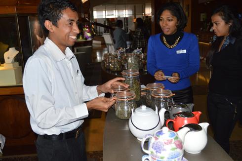 « Tea time » au  Carlton : Une tradition anglosaxone remise à l'honneur