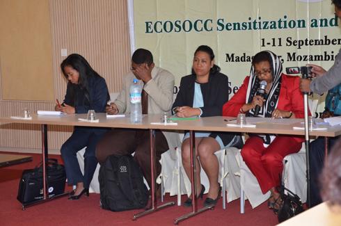 Awa Ahmed Youssouf : Pour l'adhésion de Madagascar à l'ECOSSOM