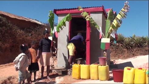Œuvre sociale : Une borne-fontaine pour les habitants de Manandona