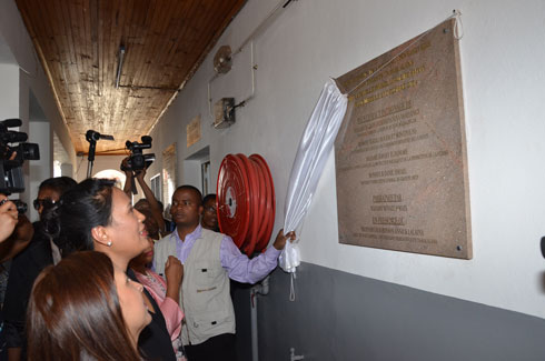 Hôpital des Enfants Tsaralalàna : Inauguration du Pavillon Ismaël, hier