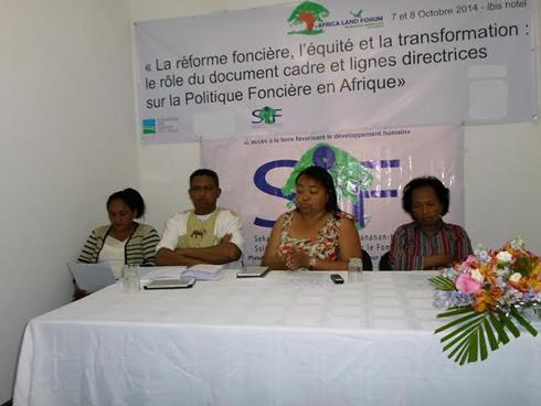 Politique foncière : Forum des pays africains ce jour à l'Ibis Ankorondrano