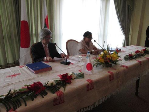 Ambassade de Japon : 300 millions de yens pour le 10ème dons « hors projet »