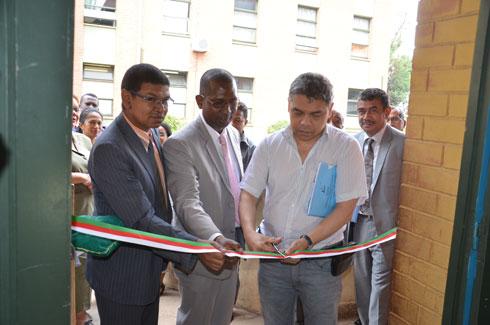 Hopital Befelatanana : Inauguration des infrastructures rénovées du service pédiatrique