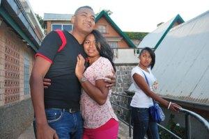 Kiady et Rindra épiés par la fiancée du premier.