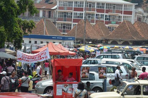 Esplanade Analakely : Grogne des marchands