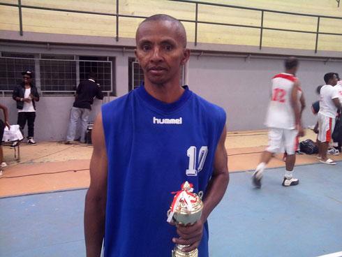 Basket-ball : Gérard l'éternel pratiquant