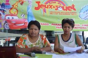 Les organisateurs de l'événement lors de la conférence de presse hier à La City Ivandry (photo Nary)