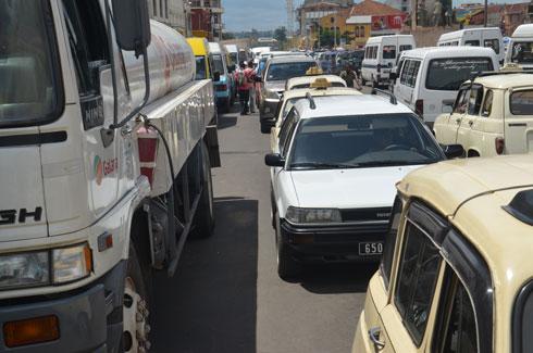 Tana : Embouteillages monstres tous les jours
