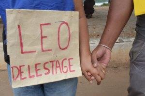 Des signes de solidarité contre le délestage à Anosy, samedi dernier.