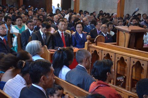 Marc Ravalomanana : Culte de dimanche à Faravohitra