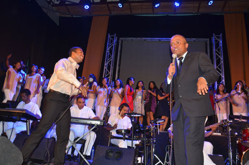 « Songs and gift » : The Singers of Jesus, époustouflant au Ccesca !