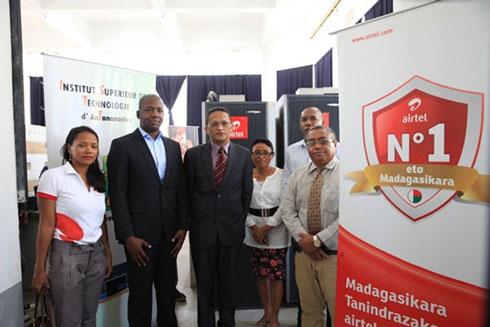 Airtel Madagascar : Dons d'équipements de télécommunications à une dizaine d'universités de la Capitale
