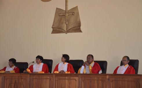 HCC : Feu vert à l'installation de la HCJ et à l'abolition de la peine de mort