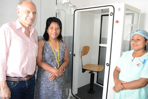 CHU Mère-Enfants Tsaralalàna : Doté d'un appareil de diagnostic des fonctions respiratoires