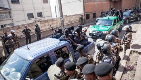 Braquage par trois GSIS : Un lieutenant arrêté et un commandant recherché