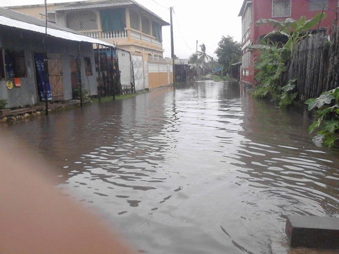 Mahajanga : La Ville sous les eaux