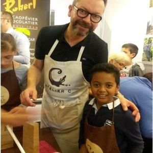 Le maître chocolatier Christophe Berthelot-Sampic.
