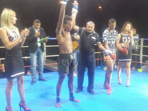 Kick-boxing –  Choc de l'Océan Indien : Mahery sauve la mise
