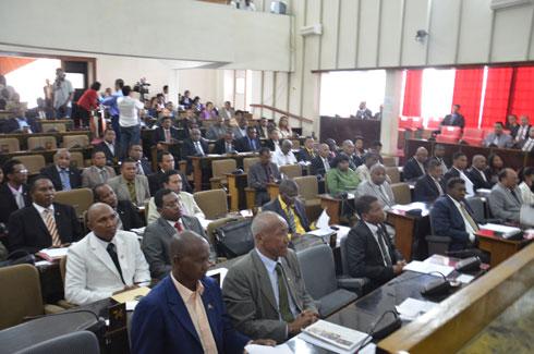 Présidence et Assemblée : Mémorandum de stabilité : « Dossier » classé