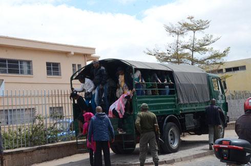 Trafic de personnes : Une centaine de jeunes femmes interceptées hier par la BC