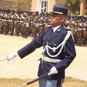 Le colonel Rarivomanana Tahirimamy André Pascal, actuel commandant de l'EGNA. (Photo Anastase)
