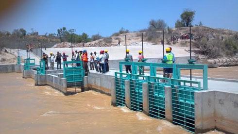 Périmètre de Taheza Bezaha : 90% de travaux achevés pour le barrage du PRIASO