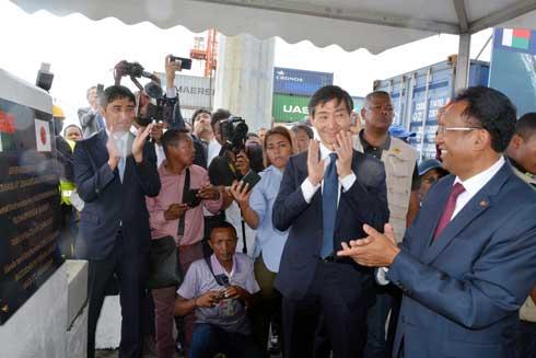 Port de Toamasina : Lancement officiel des travaux d'extension hier