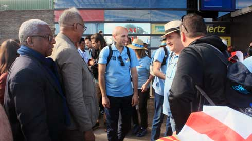 Football Match amical international : Les Espagnols de l'A.E. Ramassà sont là