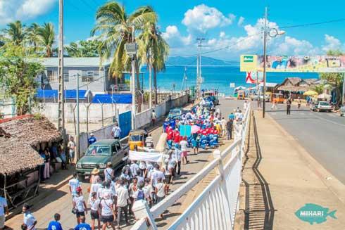 Conservation marine dans le Nord-Ouest : Festival des « Dudongs » et atelier régional du réseau MIHARI
