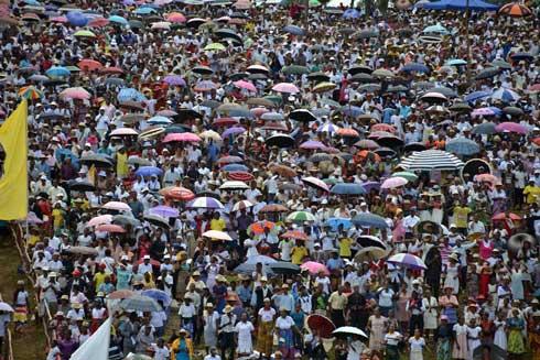 Béatification de Lucien Botovasoa : Environ 40 000 personnes présentes à Vohipeno