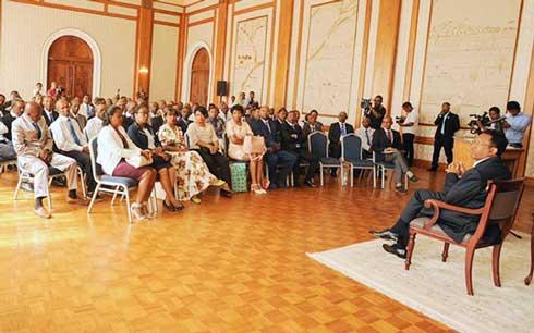 Antsonjombe : Grande mobilisation des élus pro-régime