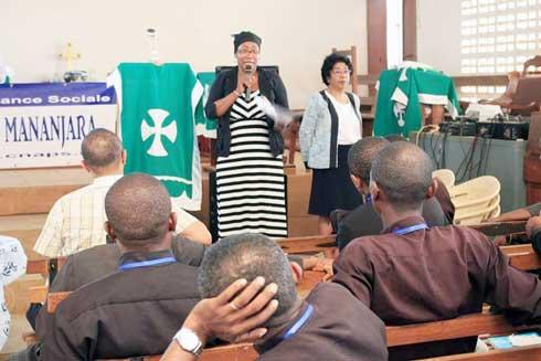 Eglise anglicane à Diégo-Suarez : Formation en protection sociale avec la CNaPS