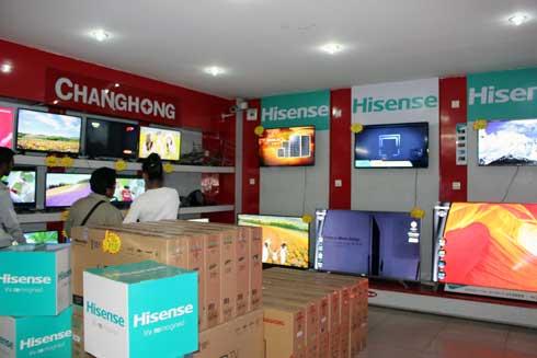 Baolai : Promotion sur les téléviseurs LED Hisense, Chnghong et Skyworth